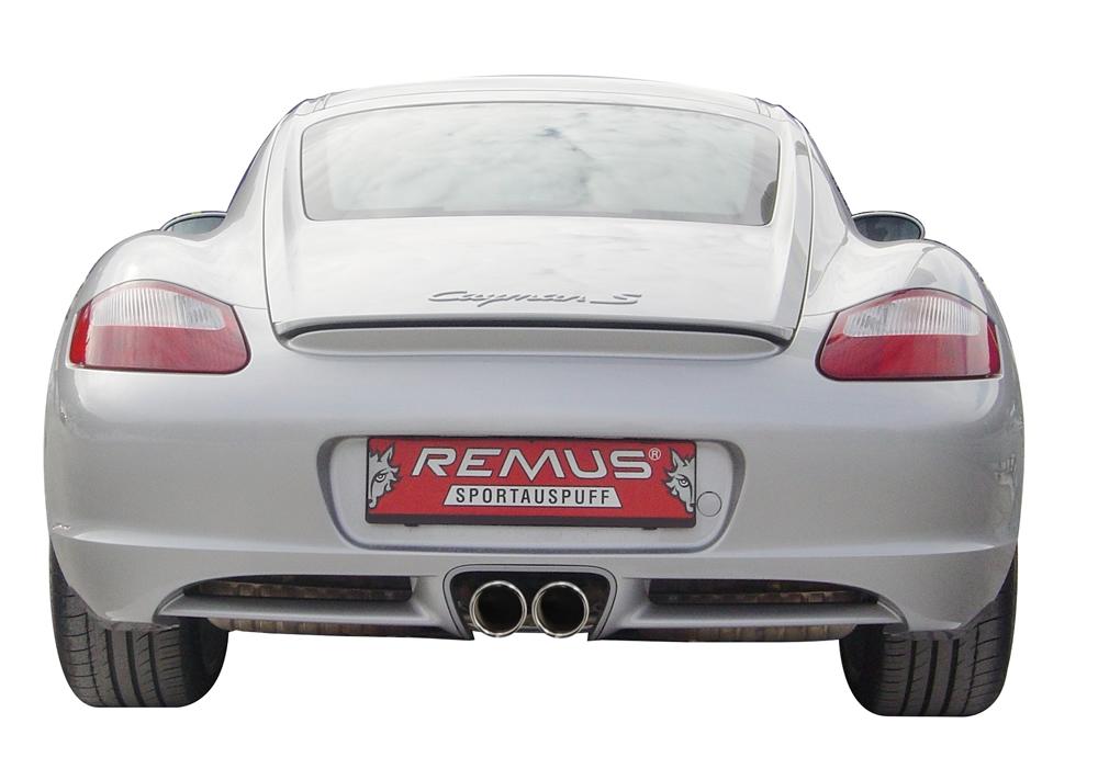 Sportauspuff Porsche Cayman Typ 987